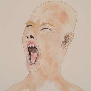 Screaming Man 1 art for sale