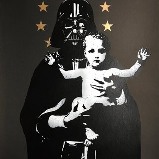 My Vader (grey) art for sale