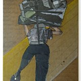 Fanny Allié, Cardboard Portraits Series - Woman Strapbundle