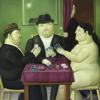 Card Players art for sale