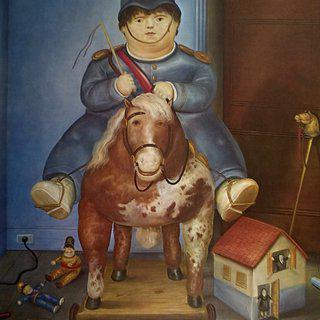 Child on Horse art for sale