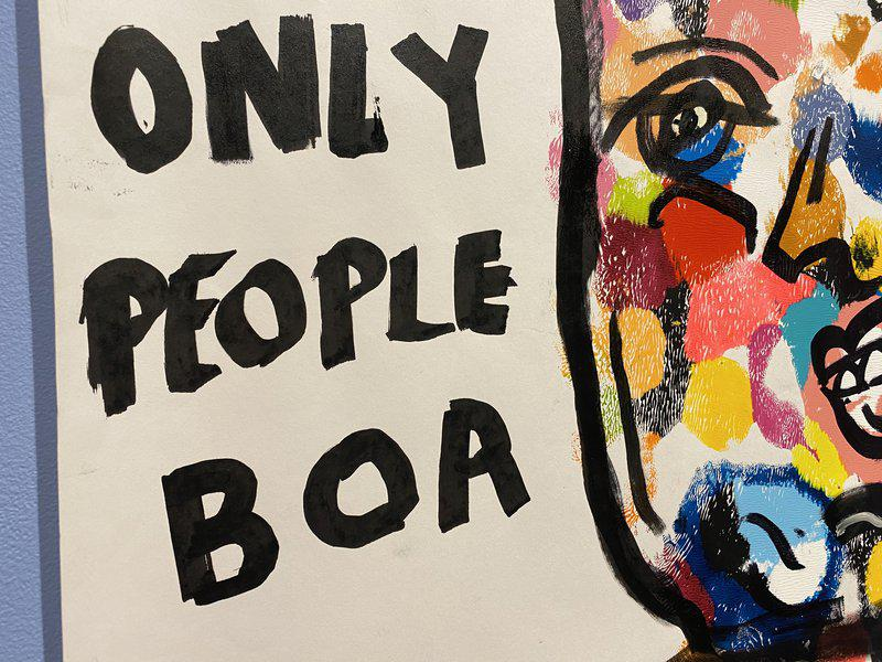 view:37934 - Frances Berry, Only Boring People Get Bored -