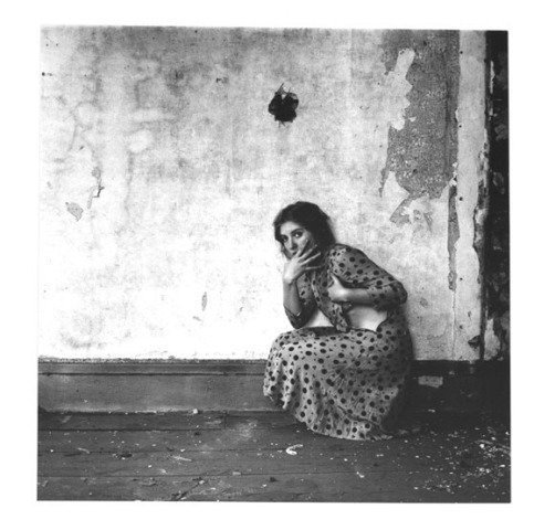 Francesca Woodman - From Polka Dots series, Providence, Rhode Island