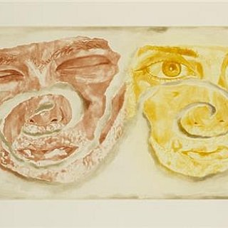Francesco Clemente, Celtic Self-Portrait