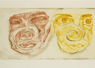 Francesco Clemente - Celtic Self-Portrait