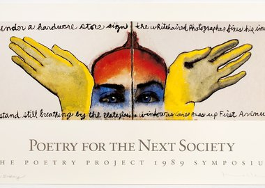 Francesco Clemente - The Poetry Project Poster