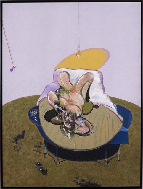 Francis Bacon, Lying Figure