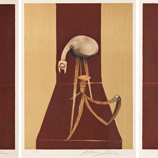 Francis Bacon, Second Version, Triptych 1944