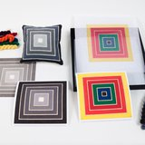 different view - Frank Stella, The Mesh Canvas - 1