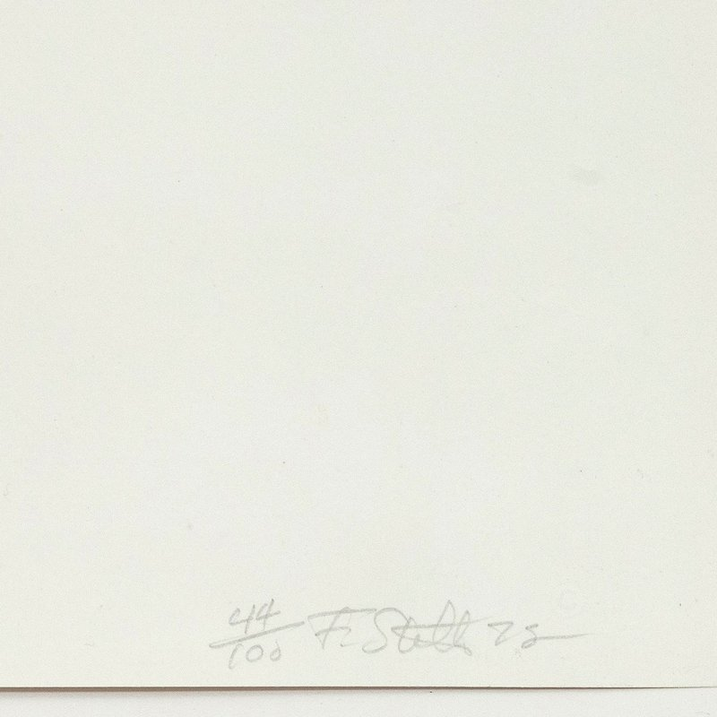 Frank Stella - Leo Castelli for Sale | Artspace