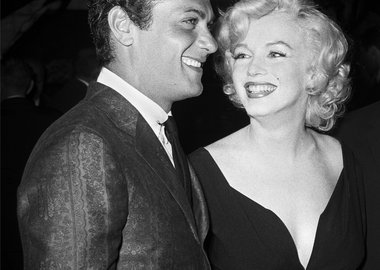 work by Frank Worth - Marilyn Monroe and Tony Curtis