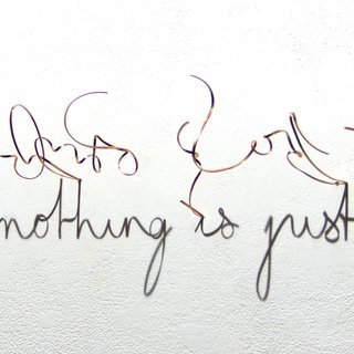 Word is nothing is just a word art for sale