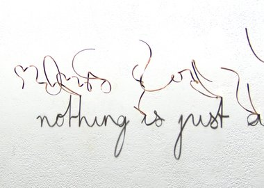 work by Fred Eerdekens - Word is nothing is just a word