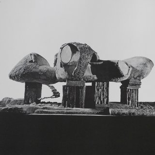 """Frederick Kiesler: An Exhibition of Architecture and Sculpture (Endless House, Model)"" Yale University School of Art and Architecture, New Haven art for sale"