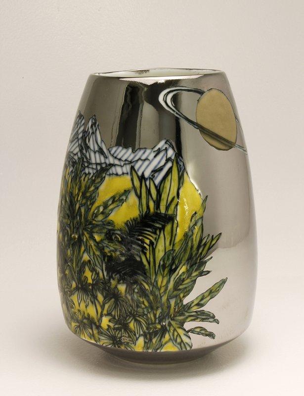 Future Retrieval Space Vase Silver For Sale Artspace
