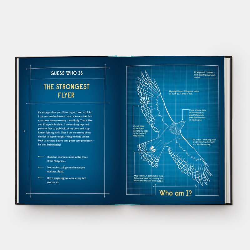 view:31913 - Phaidon, Book of Flight - 10 Record-Breaking Animals with Wings -