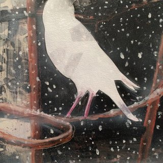 Snowbird art for sale