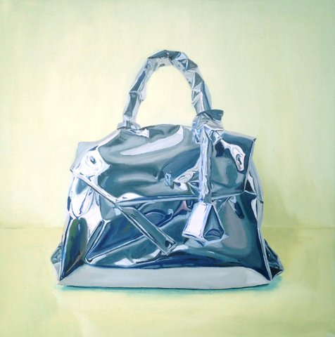 Gemma Gene - Wrapped Purse, Painting