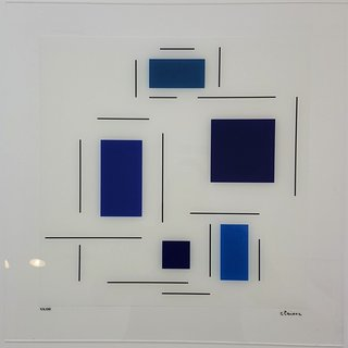 Untitled (Blue) art for sale