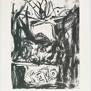 Georg Baselitz, Fare Well Bill (Motiv 8)