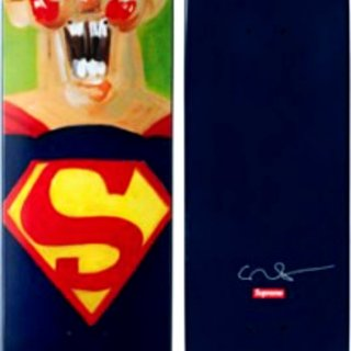 Limited Edition Superman Skateboard art for sale