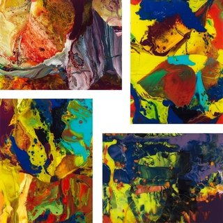 P8, P9 P10, P11 (Flow) Set of 4 prints art for sale