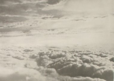 work by Gerhard Richter - Wolken