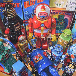 Robots art for sale