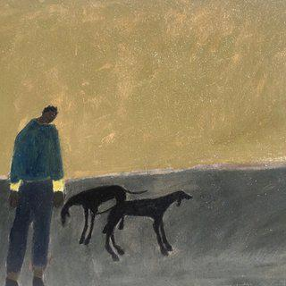 Calling the Hounds/Green Morning art for sale