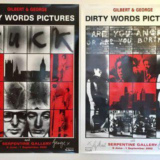 The Dirty Words Pictures (x2) art for sale