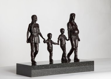 work by Gillian Wearing - A Real Birmingham Family