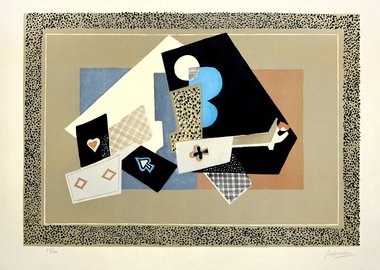 work by Gino Severini - Nature Morte (Still Life)