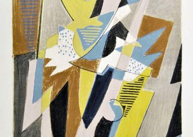 work by Gino Severini - Danseuse