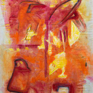 The Abstract Flame art for sale