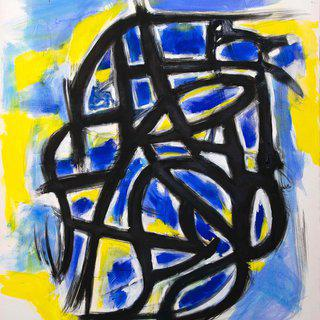 Yellow Impression art for sale