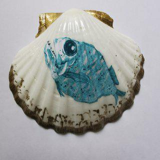 The House of Venus – Piranha Fish art for sale