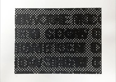 work by Glenn Ligon - Detail