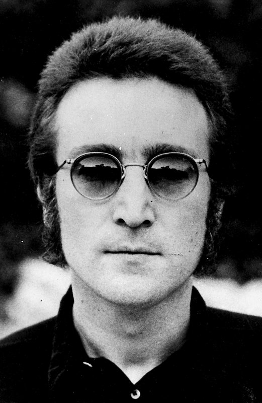 929c3e33dd581 Globe Photo Agency - John Lennon in Glasses for Sale | Artspace