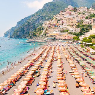 Positano Coast Vertical art for sale