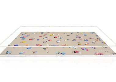work by Gray Malin - The Beach Tray