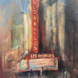 Los Angeles Theatre art for sale