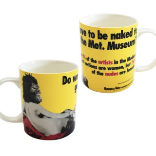 Guerrilla Girls, Do Women Have to be Naked Mug Set (2)