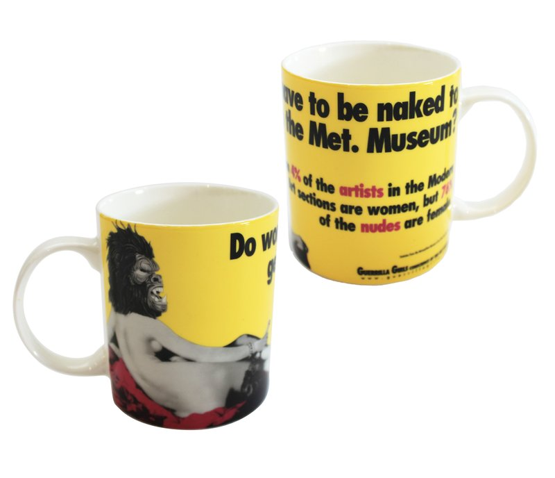 by guerrilla-girls - Do Women Have to be Naked Mug Set (2)