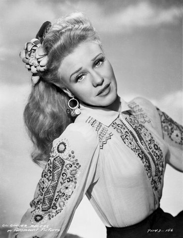 "Hal McAlpin - Ginger Rogers, ""Lady in the Dark"", Photograph"