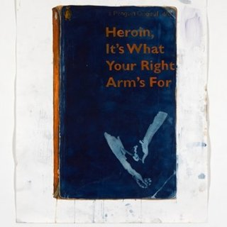 Harland Miller, Heroin, It's What Your Right Arm's For