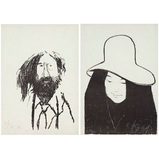 John & Yoko art for sale
