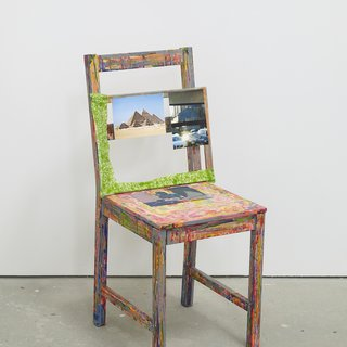 Self Portrait as a Chair art for sale