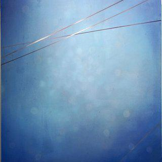Composition in Blue II, 2011 art for sale