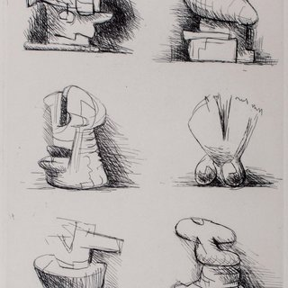 Henry Moore, Six Sculpture Motives