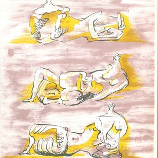 The Reclining Figures art for sale
